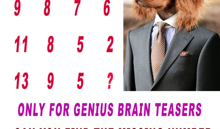Only For Genius Brain Teasers
